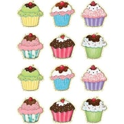 "Teacher Created Resources TCR5128 2.625"" DieCut Susan Winget Cupcakes Mini Accents, Multicolor"
