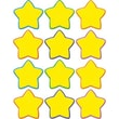 "Teacher Created Resources TCR5130 2.625"" DieCut Stars Mini Accents, Yellow"