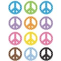 Teacher Created Resources® Grades Toddler - 12th Mini Accents, Peace Signs