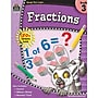 Teacher Created Resources Ready -Set -Learn, Fractions Book,