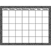 Teacher Created Resources® Calendar Chart, Black/White Crazy Circles