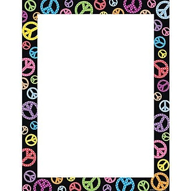 Teacher Created Resources® Peace Signs Blank Chart