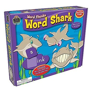 Teacher Created Resources Word Chunks Game