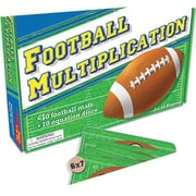 Teacher Created Resources® Football Multiplication Game, Grades 2nd - 4th