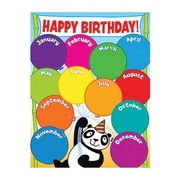 Teacher's Friend® Panda Birthday Chart, Grades Pre Kindergarten - 5th