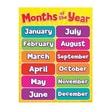Teacher's Friend® Months of the Year Chart, Grades Pre Kindergarten - 5th