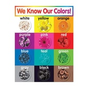 Teacher's Friend® Colors Chart, Grades Pre Kindergarten - 5th