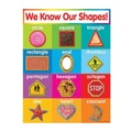 Teacher's Friend® Shapes Chart, Grades Pre Kindergarten - 5th