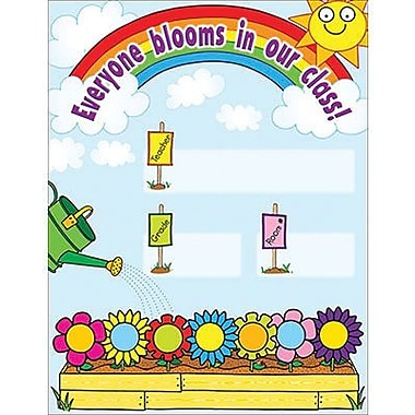 Teacher's Friend® Our Class in Bloom Welcome Chart
