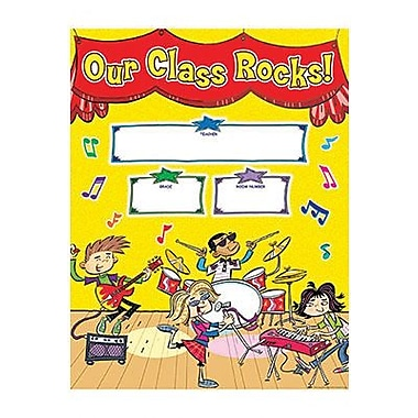 Teacher's Friend® School Rocks! Welcome Chart, Grades Pre Kindergarten - 5th