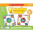 Teacher's Friend® Scholastic Learning Puzzles, Beginning Sounds
