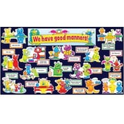 Teacher's Friend® Bulletin Board Set, Good Manners Monsters