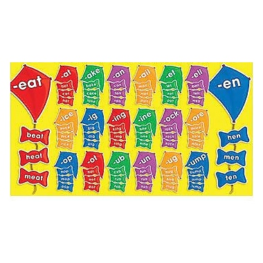 Teacher's Friend® Bulletin Board Set, Word Families Kites