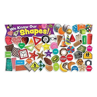 Teacher's Friend® Bulletin Board Set, Shapes in Photos
