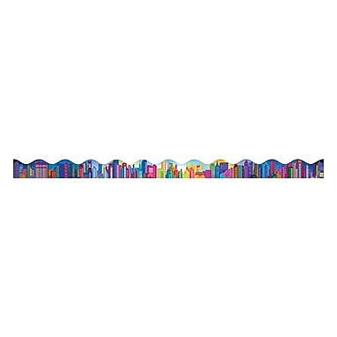 Teacher's Friend® Pre Kindergarten - 5th Grades Bulletin Board Border, Colorful City Skyline