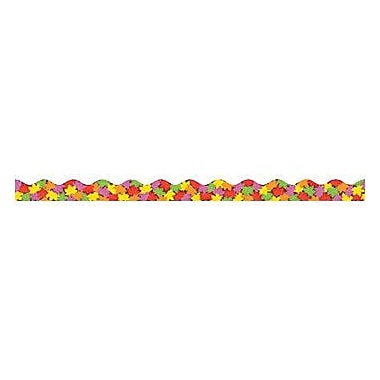 Teacher's Friend® Pre Kindergarten - 5th Grades Scalloped Trim, Fall Leaves