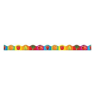 Teacher's Friend® Pre Kindergarten - 5th Grades Scalloped Trim, Fruits and Vegetables