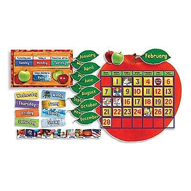 Teacher's Friend® Bulletin Board Set, Apple Photo Calendar