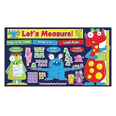 Teacher's Friend® Bulletin Board Set, Monsters Measurement