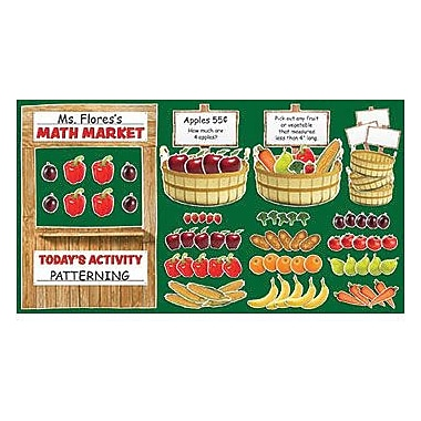 Teacher's Friend® Bulletin Board Set, Farmers Market Math