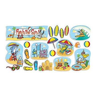 Teacher's Friend® Bulletin Board Set, Fun In The Sun