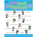 Milliken & Lorenz Educational Press® 100 Math Workouts Book, Grades 6th - 8th