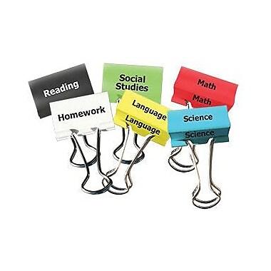 Top Notch Teacher Products® Classes Teacher Clip Set, 2