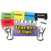 """Top Notch Teacher Products® Days of The Week Teacher Clip Set, 2"""""""