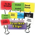 Top Notch Teacher Products® Things To Do Teacher Teacher Clip Set, 2in.