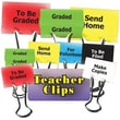 """Top Notch Teacher Products® Things To Do Teacher Teacher Clip Set, 1-1/4"""""""