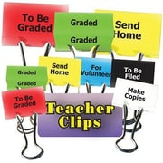 Top Notch Teacher Products® Things To Do Teacher Teacher Clip Set, 1-1/4""