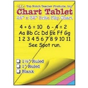"Top Notch Teacher Products TOP3820 24"" x 32"" Large Chart Tablet, Assorted"