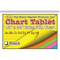 Top Notch Teacher Products® 16in. x 24in. Blank Chart Tablet