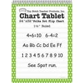 Top Notch Teacher Products® 32in. x 24in. Polka Dots Chart Tablet, Green