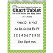 "Top Notch Teacher Products® 32"" x 24"" Polka Dots Chart Tablet, Green"