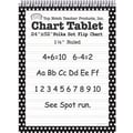 Top Notch Teacher Products® 32in. x 24in. Polka Dots Chart Tablets