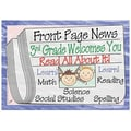 Top Notch Teacher Products® Front Page News Welcome Postcard