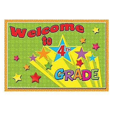 Top Notch Teacher Products® Welcome To Fourth Grades Postcard