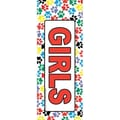 Top Notch Teacher Products® Hall Pass, Girls Paws