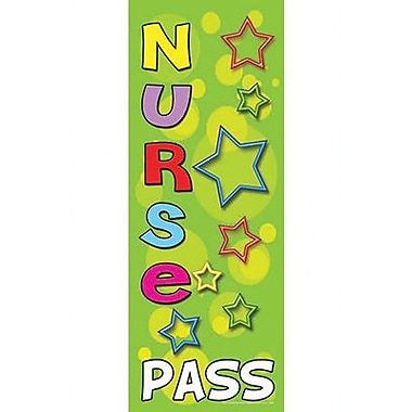 Top Notch Teacher Products® Hall Pass, Nurse
