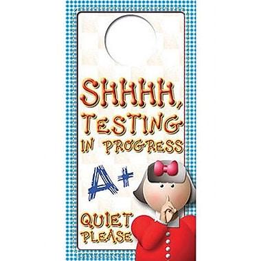 Top Notch Teacher Products® Testing Door Hanger Accents