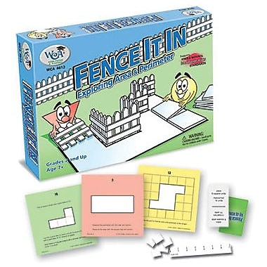 WCA Fence It In Game - Exploring Area & Perimeter, Grades 2nd+