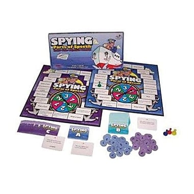 WCA Spying Parts of Speech Game, Grades 2nd+