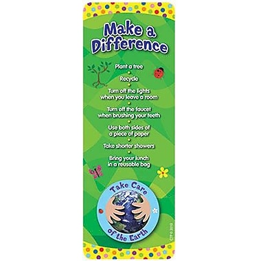 Creative Teaching Press™ Take Care of The Earth Bookmark, Grades Pre School - 8th