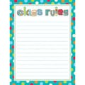 Creative Teaching Press™ Dots On Turquoise Class Rules Chart