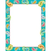 Creative Teaching Press™ Dots On Turquoise Paisley Classroom Chart
