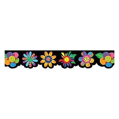 Creative Teaching Press™ preschool - 12th Grades Bulletin Board Border, Spring Flowers