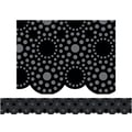 Creative Teaching Press™ Pre School-12th Grades Scalloped Bulletin Board Border, Lots of Dots Black