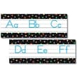 Creative Teaching Press™ Bulletin Board Set, Dots On Black Alphabet, Traditional Manuscript