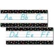 Creative Teaching Press™ Bulletin Board Set, Dots On Black Alphabet, Modern Manuscript